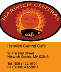Harwich Central Cafe ad