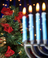 Celebrating Christmas and Hannukah