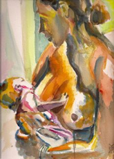 Mother and Child,  by Karen Ryder