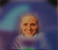 Lynne Delany's aura photo.