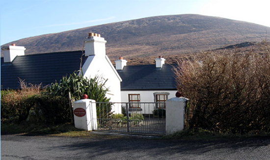 The Heinrich Theodor Böll cottage on Achill Island, County Mayo, Ireland