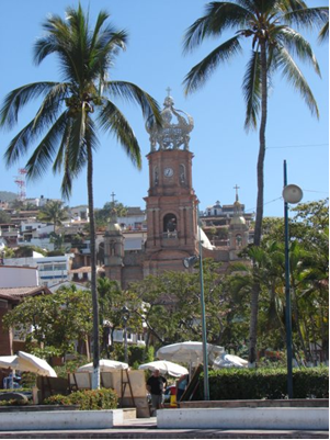 Our Lady of Guadalupe, one of Puerto Vallarta's best known landmarks