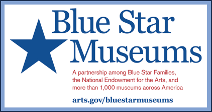 Blue Star Museums ad