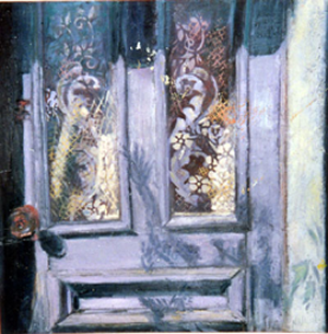 Old Cape Door, 2009, Oil on Canvas