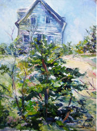 House on Hill, Provincetown Linda Turoczi